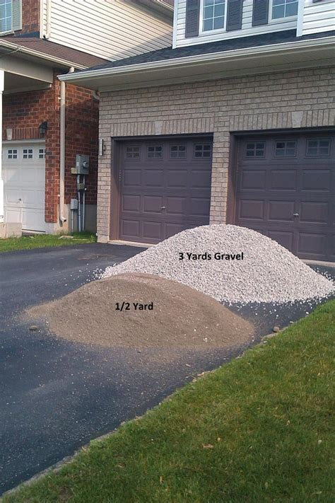 How Much Area Does A Yard Of Gravel Cover by Gravel Barrie Delivery Sand Stones Limestone Screenings