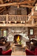 Rustic Cabin Living Room Ideas by 55 Airy And Cozy Rustic Living Room Designs DigsDigs