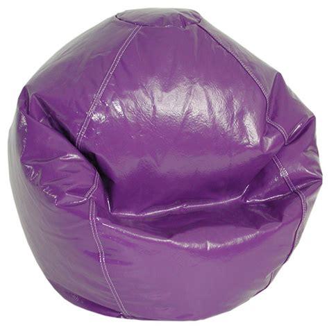 grape vinyl bean bag chair dcg stores