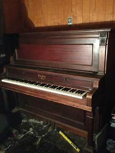 I Have An Antique Fischer Upright Piano In Poor Condition ...