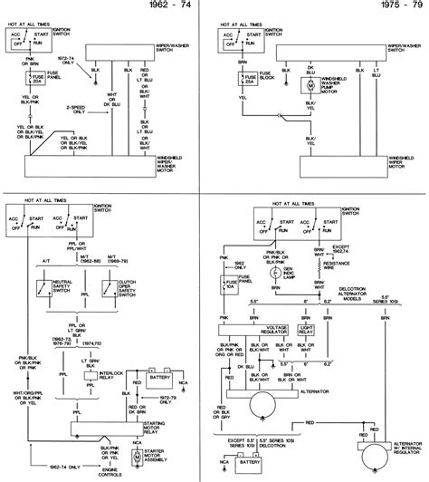 Chevy Wiring Diagrams Freeautomechanic