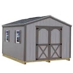 best barns elm 10 ft x 8 ft wood storage shed kit with