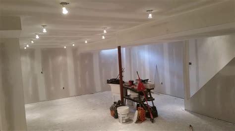 finishing  basement  start  finish youtube