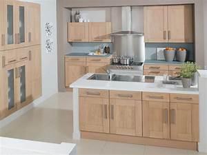 cuisine en bois moderne 2016 le bois chez vous With modele cuisine bois moderne