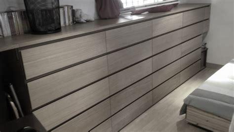 ikea cuisine noir transformation de commodes malm 4 tiroirs en 5 tiroirs