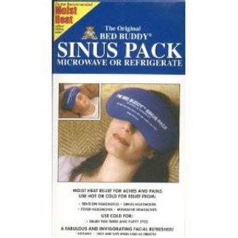 bed buddy sinus pack bbf2108 reviews viewpoints com