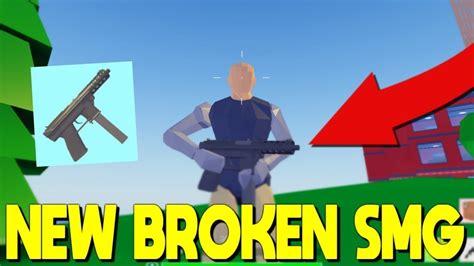 smg  broken    op roblox fortnite