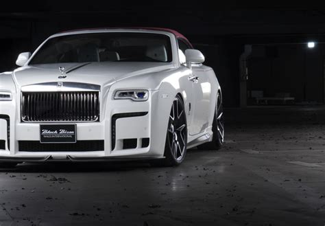 rolls royce sport 2017 wald rolls royce dawn sports line black bison edition 2017