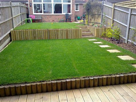 ideas for small sloping gardens homeofficedecoration sloped garden decking ideas