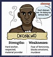 Okonkwo in Things Fall Apart - Chart