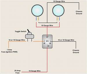 Hella 5 Pin Relay Wiring Diagram  U2013 Fasett Info