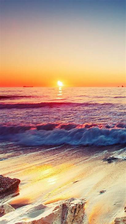 4k Colorful Sunrise Nature Sky Under Water