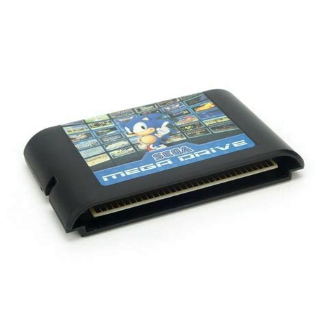 sega megadrive genesis game cartridge  bit multi entertainment  ebay