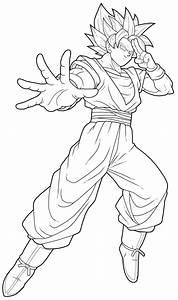 Goku Ssj2 By Drozdoo On Deviantart