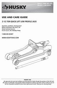 Husky Hd7024a User Guide