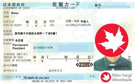permanent residency  japan hinomaple drus misadventures