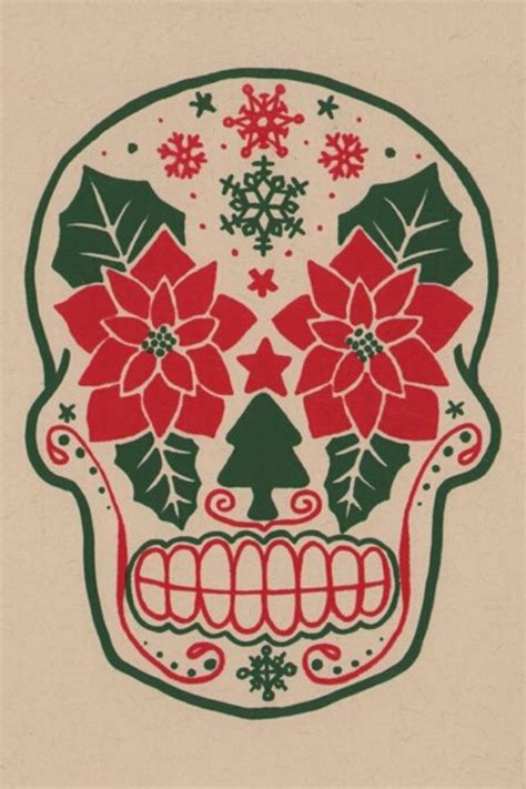 christmas sugar skull holiday ideas mexican christmas