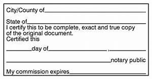 certified true copy stamp notary bonding With notary true copy of original document