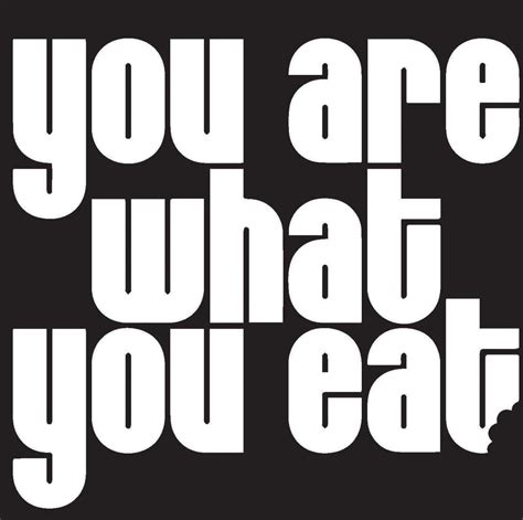 What Of Are You by Mossman Lecture You Are What You Eat Historical Changes