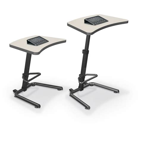 adjustable stand up desk up rite student height adjustable sit and stand desk