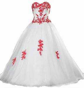 Top 10 Best Red & White Wedding Dresses | Heavy.com