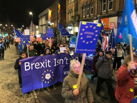 Live updates as Leeds For Europe hold flash protest ...