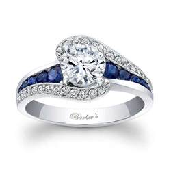 sapphire wedding rings barkev 39 s blue sapphire engagement ring 7898lbs