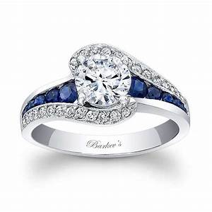 barkev39s blue sapphire engagement ring 7898lbs With blue sapphire wedding ring