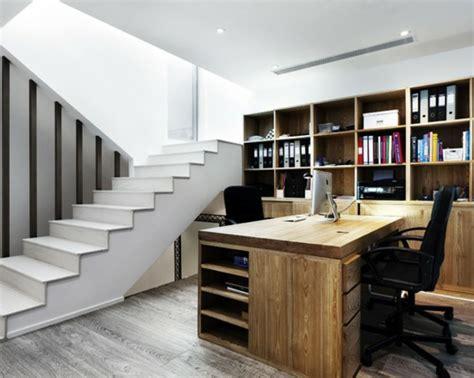 bureau bois massif moderne bureau moderne à la maison idées créatives archzine fr