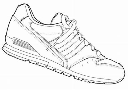 Sneakers Coloring Pages