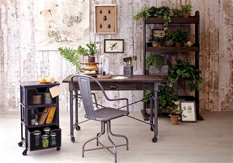 The Industrial Style Home Office
