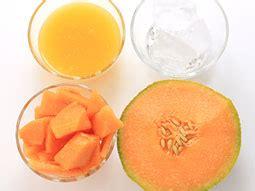 refreshing cantaloupe smoothie recipe  orange juice
