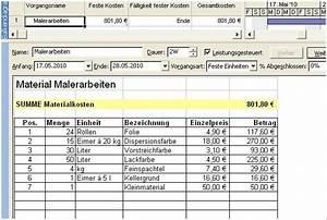 Excel Formeln Automatisch Berechnen : kosten im griff 2 projectdrive ~ Themetempest.com Abrechnung