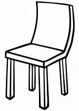 Chair Coloring Pages Print Chair3 sketch template