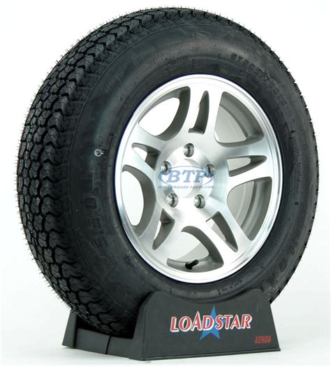 Aluminum Boat Trailer Wheels And Tires by Boat Trailer Tire St205 75d15 On Aluminum Wheel 5 Lug
