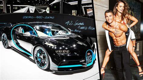 Juventus striker cristiano ronaldo has reportedly spent £9.5 million on the bugatti la voiture noire, the most expensive sports car ever built. Cristiano Ronaldo Driving His Car