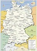 Administrative Map of Germany - Nations Online Project