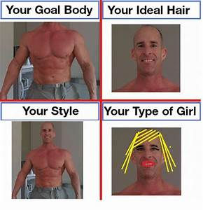 Your Goal Body Your Ideal Hair Your Style Your Type Of Girl