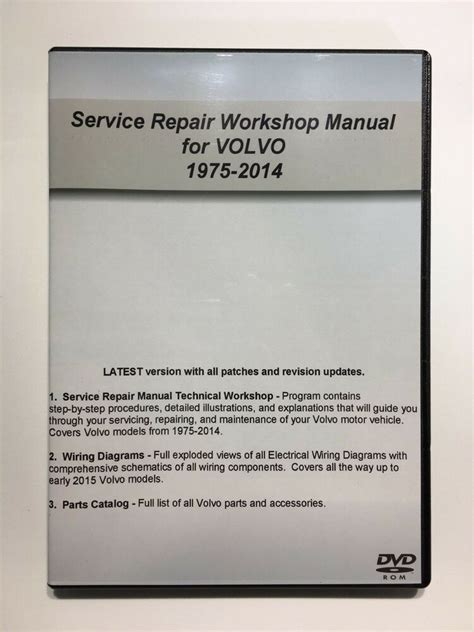 volvo   xc  service repair workshop