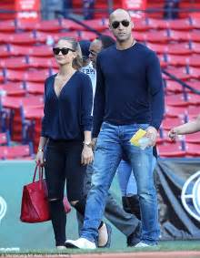 derek jeter enjoys retirement   walks  girlfriend