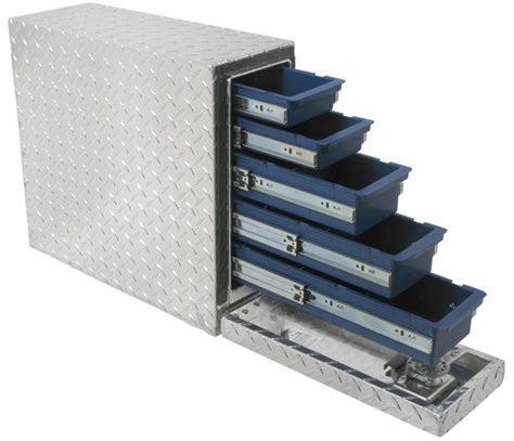 slide out tool box for bed uws ds 18 18 quot drawer slide box automotive