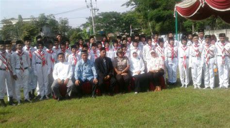 Kanit Binmas Setu Pimpin Gebyar Hari Pahlawan Di Yayasan