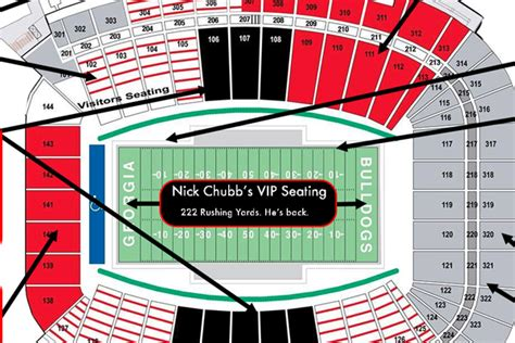 uga sanford stadium seating map awesome home