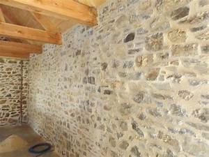 enduire un mur en pierre interieur decoration unique mur With enduire un mur en pierre interieur
