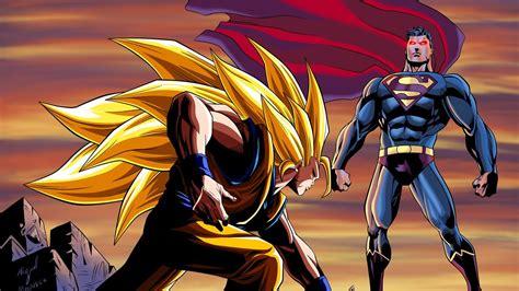 Speed Painting Goku Vs Superman
