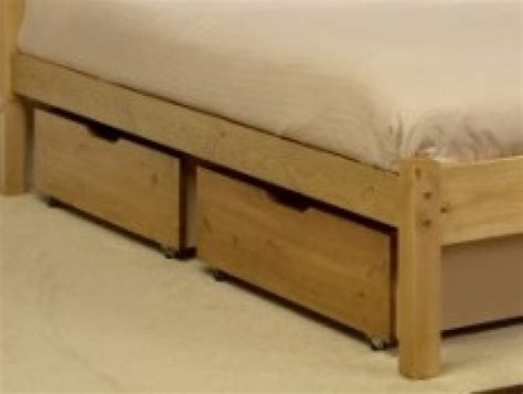 beds with storage drawers underneath friendship mill bed drawers set of 2 by friendship