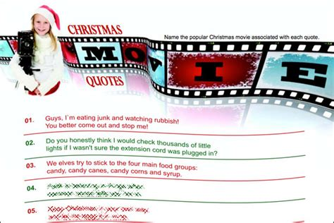 the night before christmas movie trivia printables