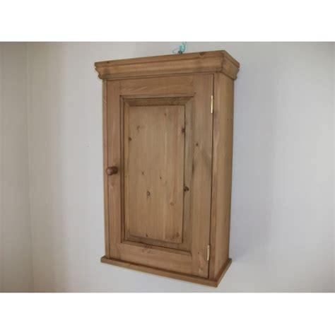 Small Wall Cupboard by Pine Wall Cupboard W50cm