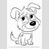 Pencil Drawings Of Puppies Easy | 596 x 842 png 44kB