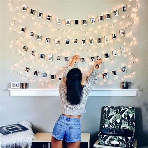 Fotowand Mit Lichterkette by 17 Budget Friendly And Easy Photo Wall Ideas Photojaanic